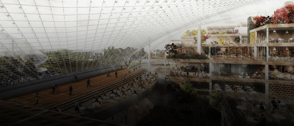 Así se verá el nuevo y futurista centro de Google en Mountain View