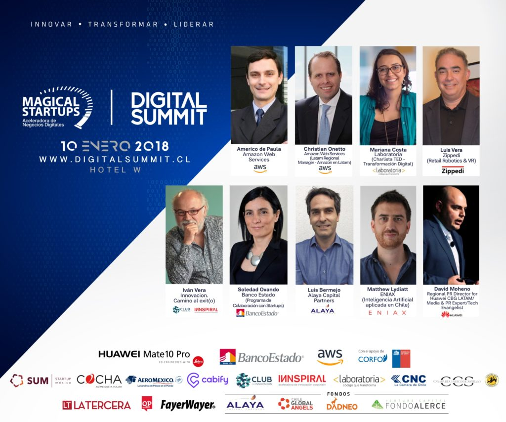 Digital Summit 2018 de Magical Startups