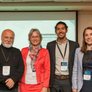 Líderes de Fraunhofer Chile, Alemania e INNSPIRAL