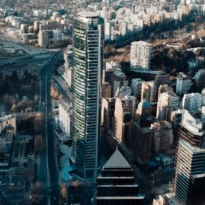 Santiago de Chile desde lo alto